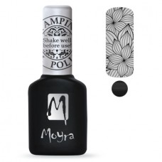 MOYRA STAMPING GEL POLISH SGP 01 BLACK