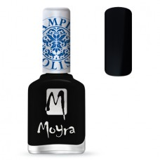 MOYRA STAMPING NAIL POLISH SP 06, BLACK