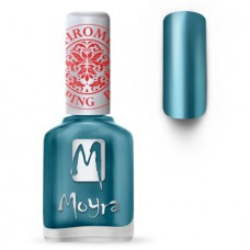 MOYRA STAMPING NAIL POLISH SP 26, CHROME BLUE