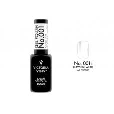 SALON GEL POLISH COLOR SYSTEM UV/LED 001C Flawless white