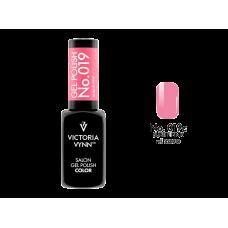 SALON GEL POLISH COLOR SYSTEM UV/LED 019ST Subtle Pink