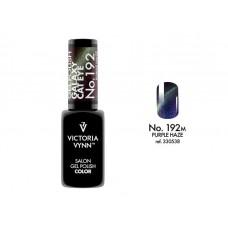 SALON GEL POLISH COLOR SYSTEM UV/LED 192M GALAXY CAT EYE Purple Haze